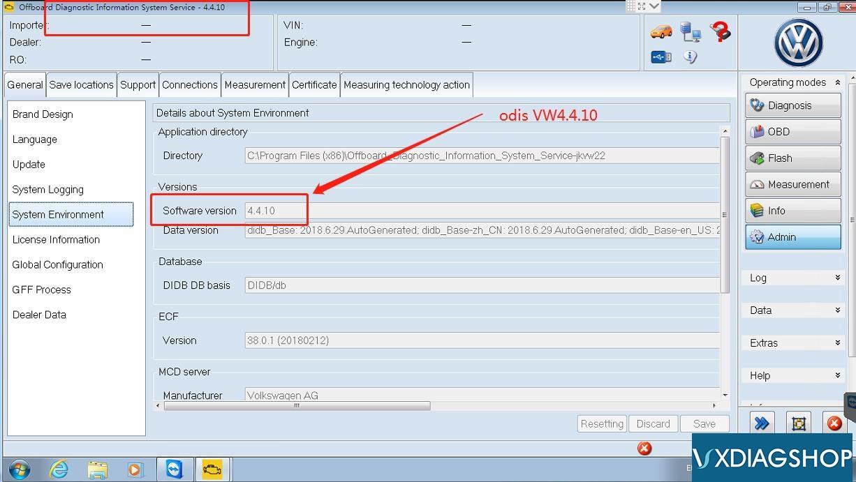 ODIS-4.4.10-software