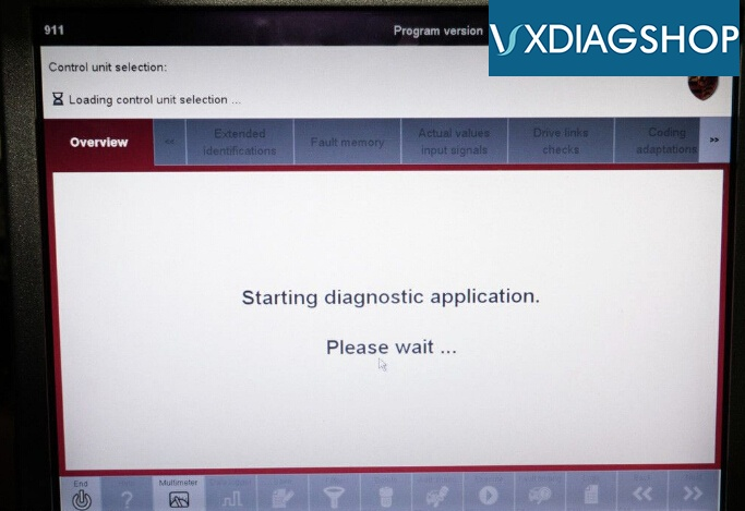 How to Force Porsche PDK Transmission Update with VXDIAG Piwis