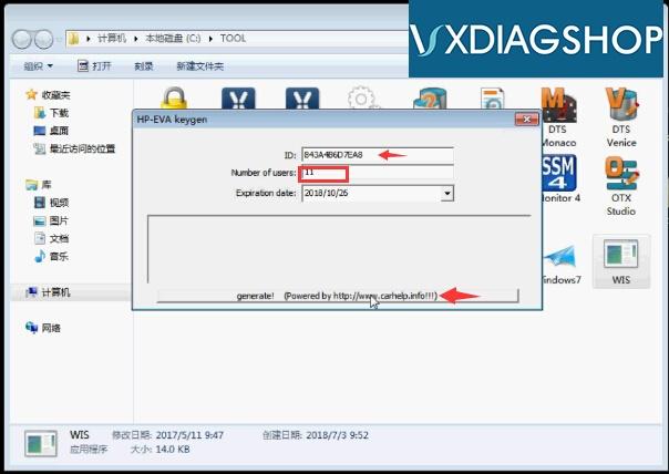 activate-vxdiag-wis-6