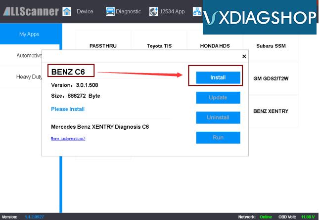update-vxdiag-benz-c6-firmware-3
