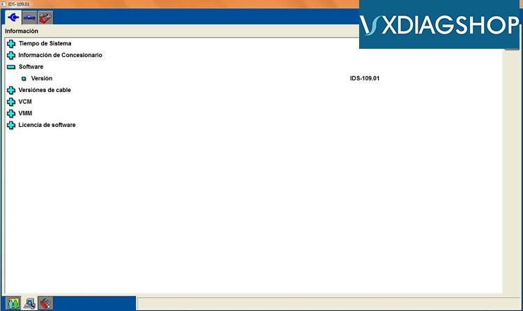 Free Download Ford IDS V109 for VXDIAG VCX NANO – VXdiagshop com