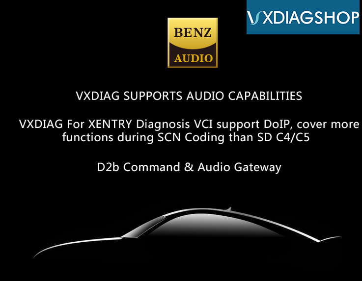 VXDIAG Benz C6 DoIP vs  MB Star SD C4 C5 Diagnostic System