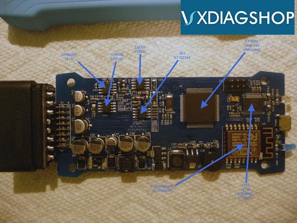 VXDIAG VCX Nano GM – what CAN & CANNOT do on Saab 9-5 2006