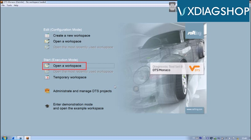 How to Set up DTS Monaco for VXDIAG Benz C6? – VXdiagshop com