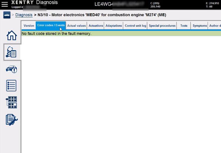 vxdiag-c6-benz-w205-med40-coding-5