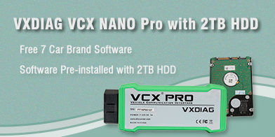 VXDIAG VCX NANO Ford ECU Programming Online: Success – VXdiagshop com