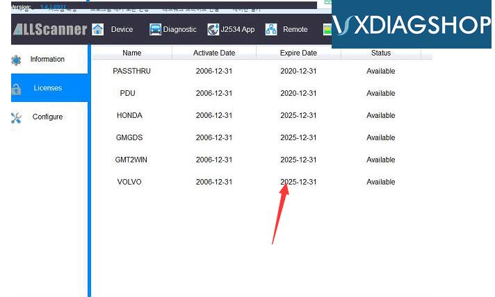 vxdiag-license-1