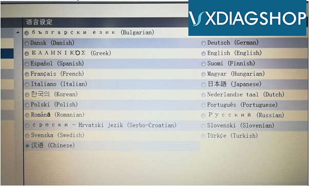 vxdiag-benz-c6-language