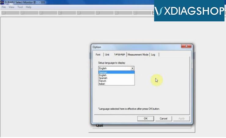vxdiag-subaru-language
