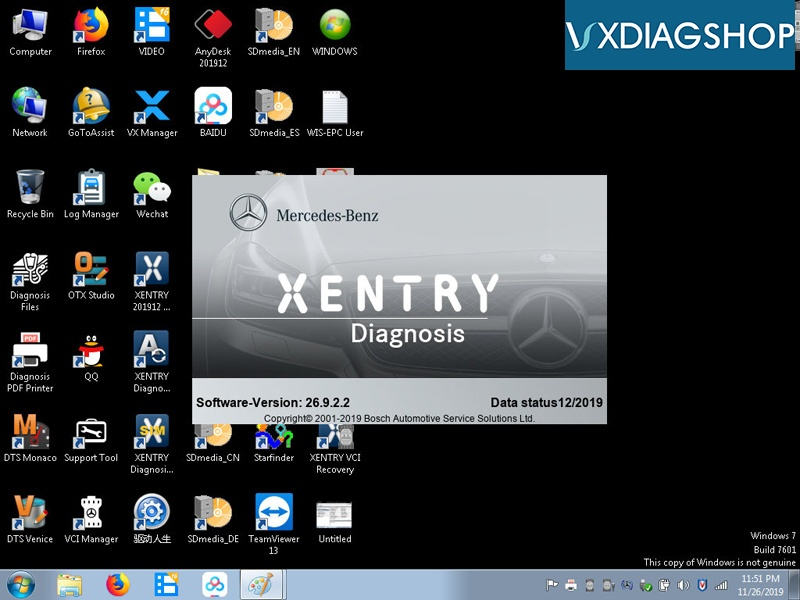 BMW Software Update >> Vxdiagshop Vxdiag Multi Tool Benz And Bmw Software Update