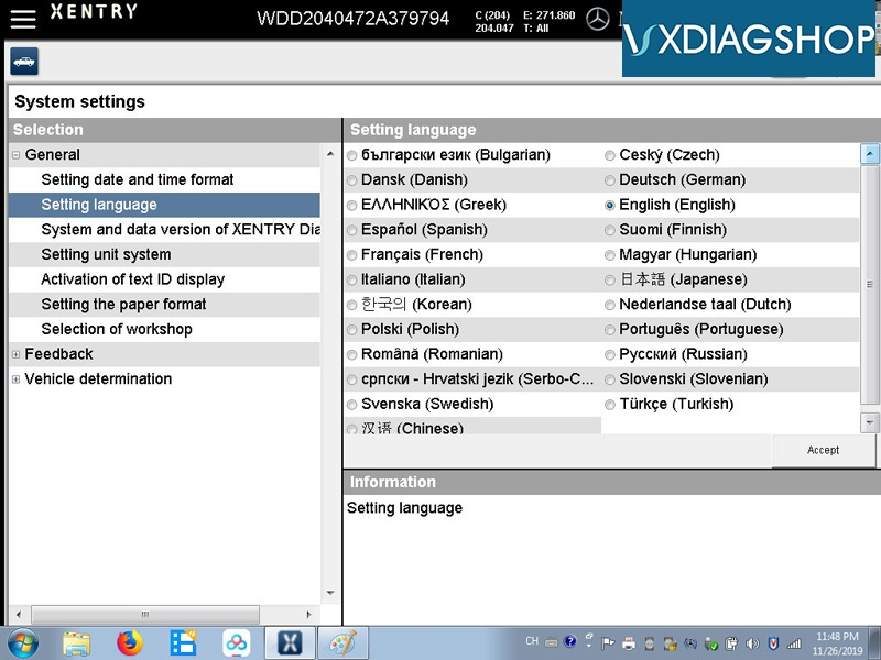 Vxdiag Benz 2019 12 Software 2