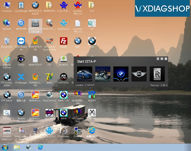 Vxdiag Bmw 2019 12 Software 0