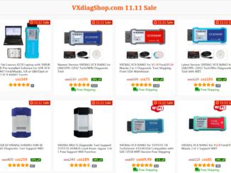 Vxdiag Double 11 Sale 1