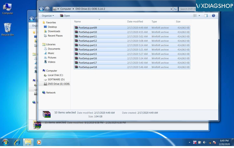 Odis 5 1 6 Install On Vxdiag Nano 02