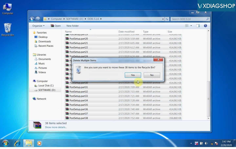 Odis 5 1 6 Install On Vxdiag Nano 05