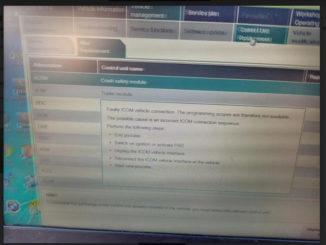 Vxdiag Faulty Icom Error