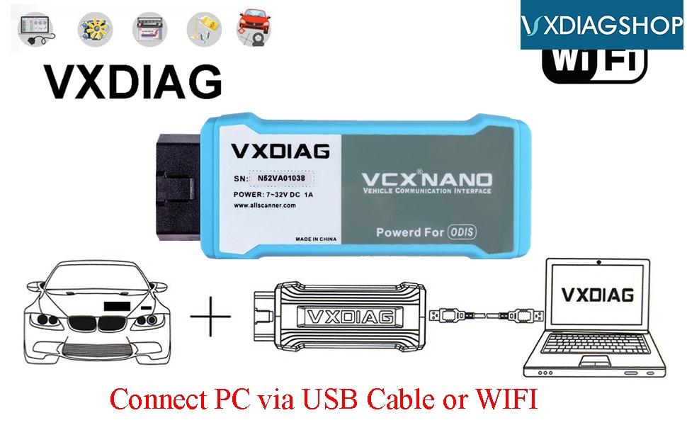 Vxdiag Vcx Nano Vw 4