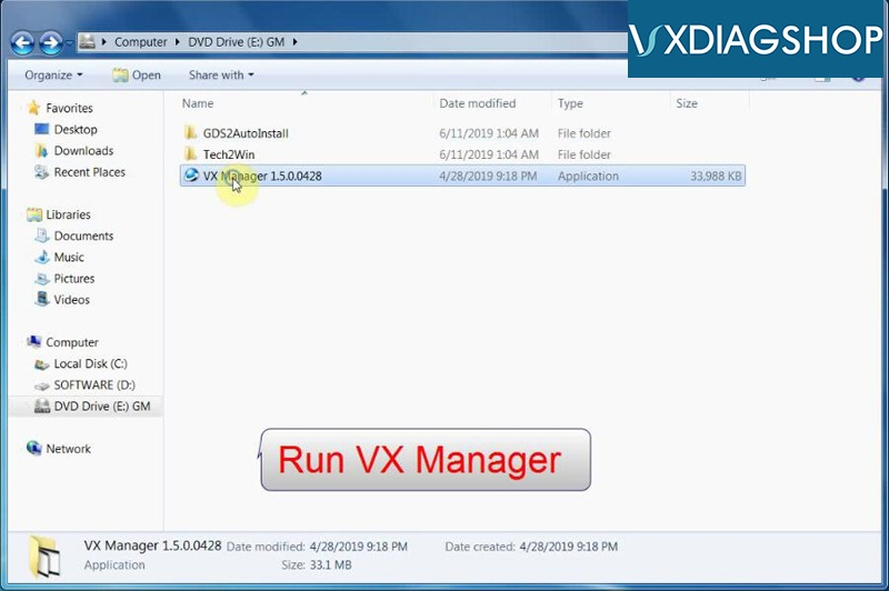 Install Vxdiag Gm Gds2 Tech2win 10
