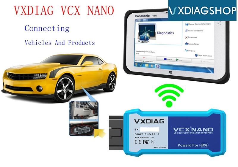 Vxdiag Vcx Nano Gds Wifi