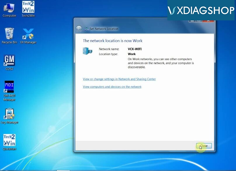 Vxdiag Vcx Nano Gm Wifi Connection 3