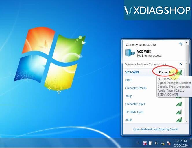 Vxdiag Vcx Nano Gm Wifi Connection 4