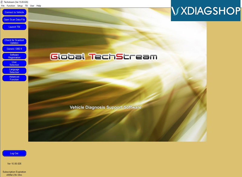 Techstream V15 3