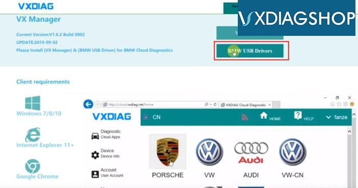 Vxdiag Vcx Se For Bmw 11