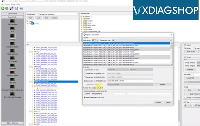 Vxdiag Vcx Se For Bmw 24