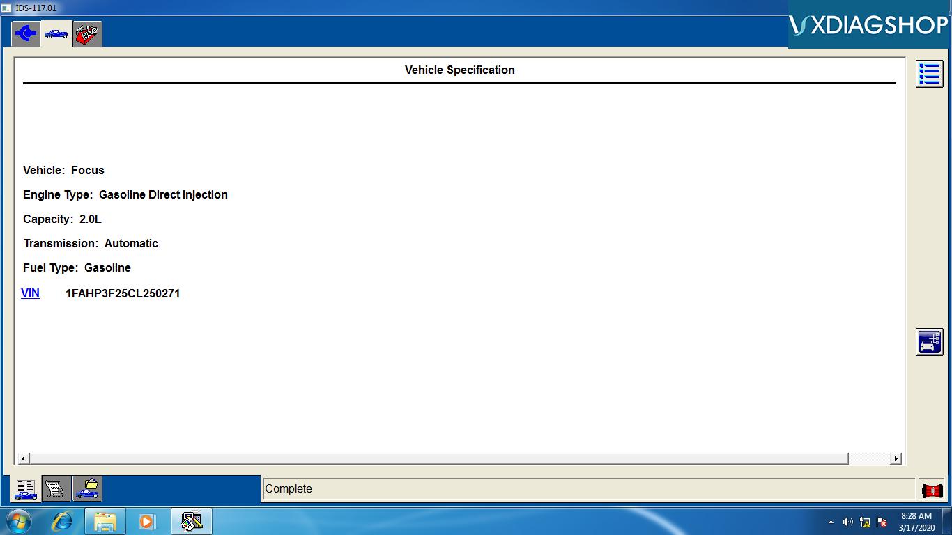 Ford Ids V117 Software 1