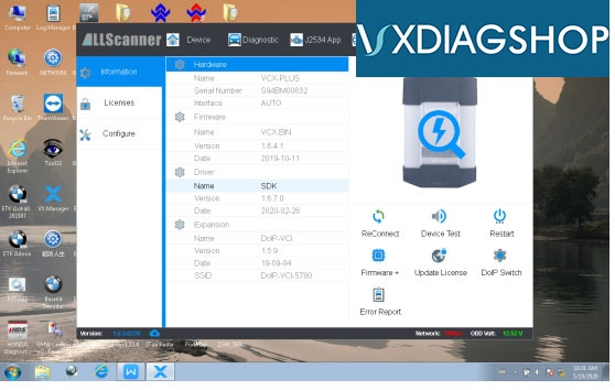 Vxdiag Bmw V4 22 Software 1