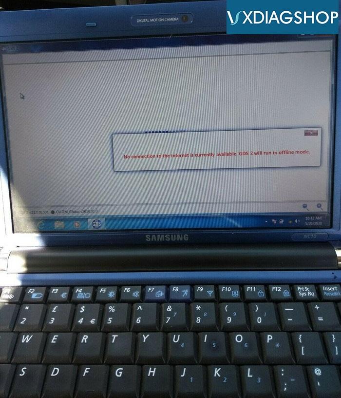 Vxdiag Gm Error Code 6 Popup 1