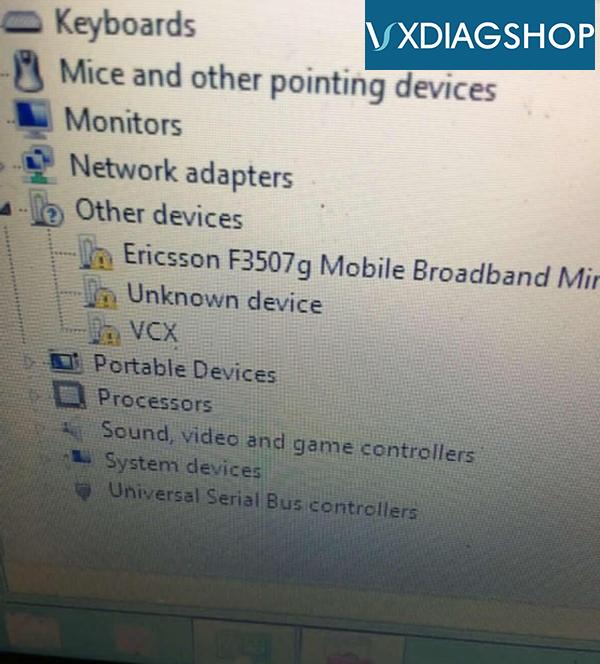 Vxdiag Vcx Nano For Volvo Software Installation Technical Support 04