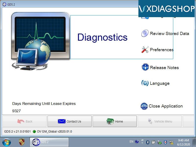 Vxdiag GDS2 2020