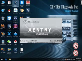 Vxdiag Benz 2020 06
