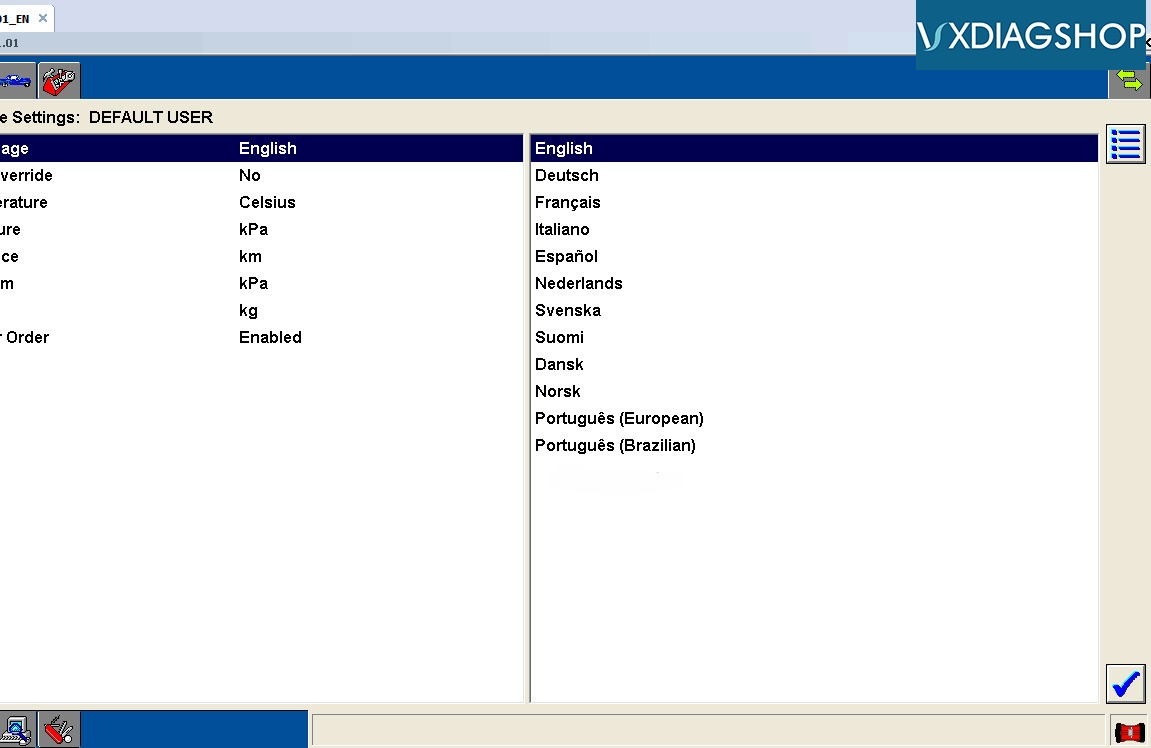 Vxdiag Ford Ids Language