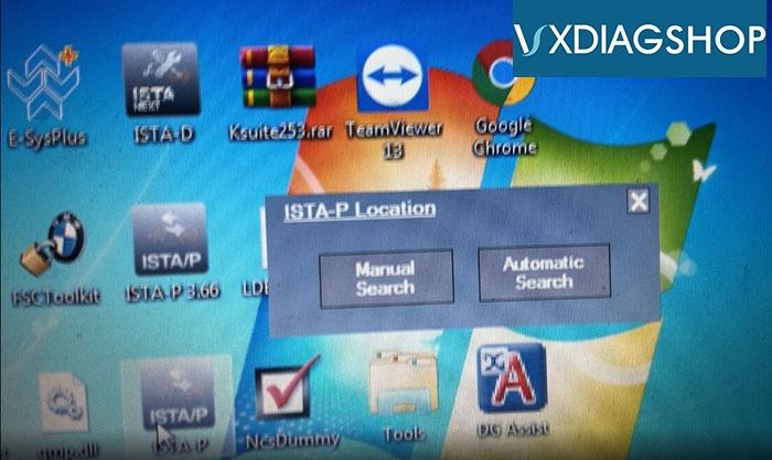 Vxdiag Manual Auto Selection 2