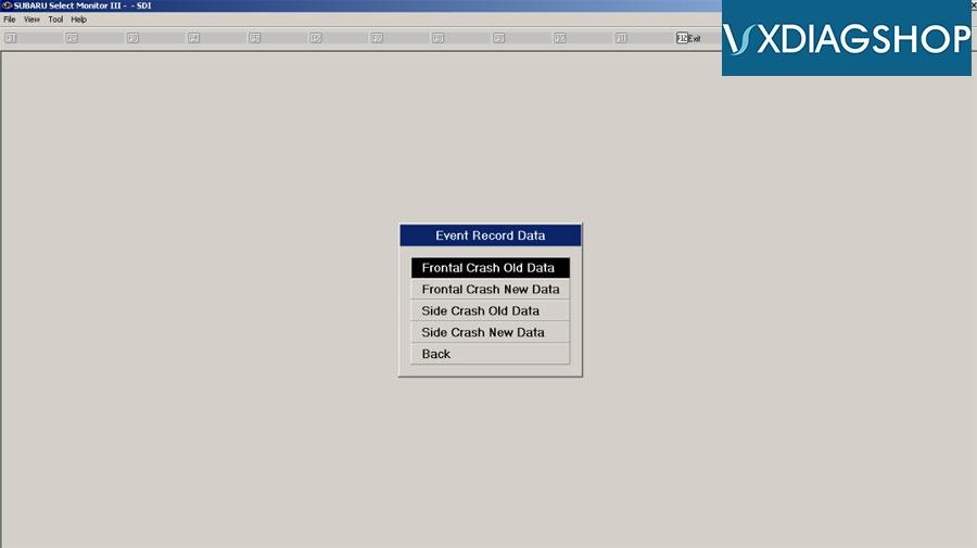 Vxdiag Subaru Edr Data 3