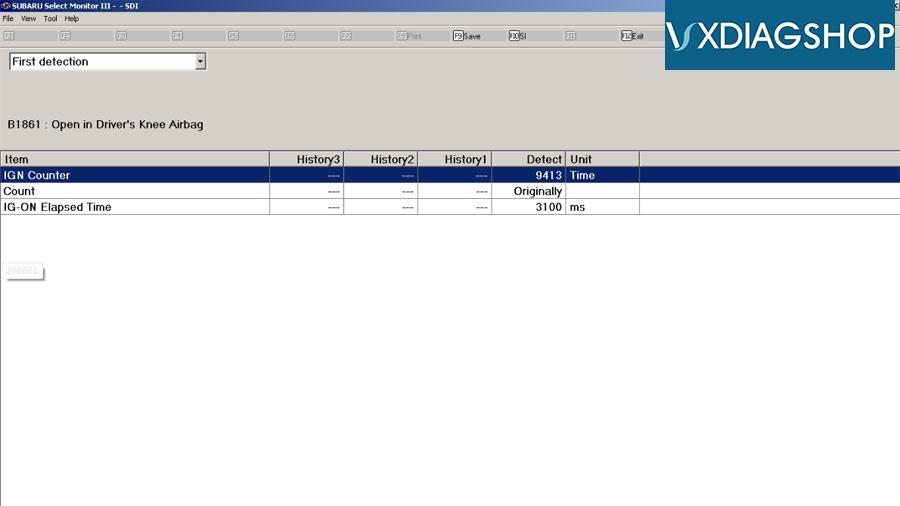Vxdiag Subaru Edr Data 6