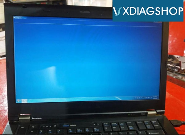 VXDIAG Ford IDS V118 Blue Screen Problem