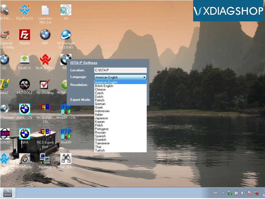 Change Vxdiag Bmw Language 5