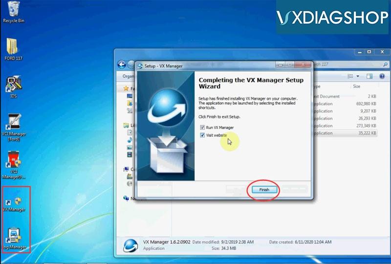Install Vxdiag Ford Ids V117 15