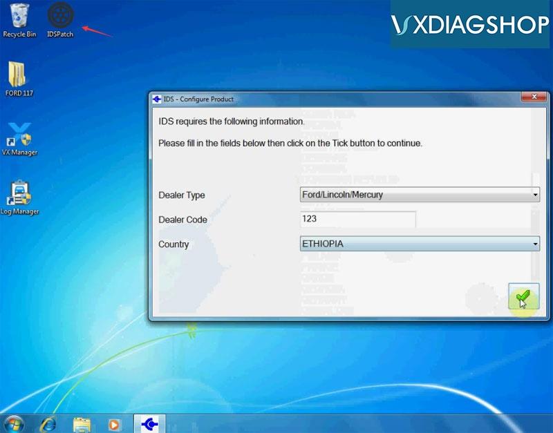 Install Vxdiag Ford Ids V117 17
