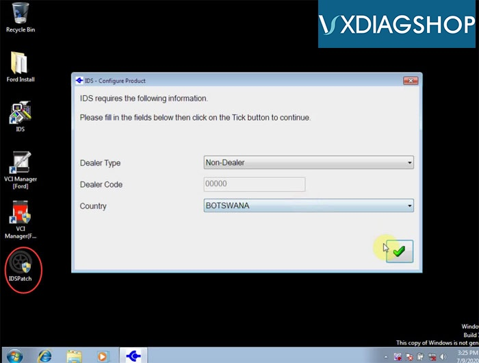 Install Vxdiag Ford Ids V118 12