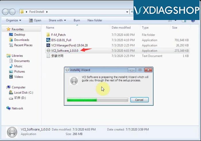 Install Vxdiag Ford Ids V118 5