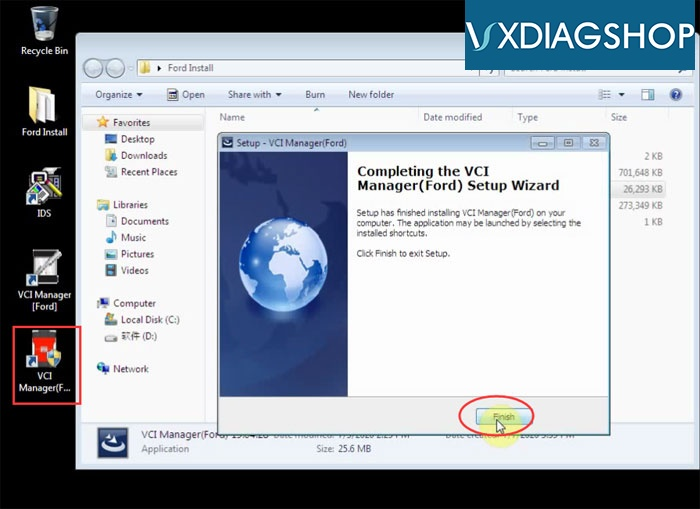 Install Vxdiag Ford Ids V118 9