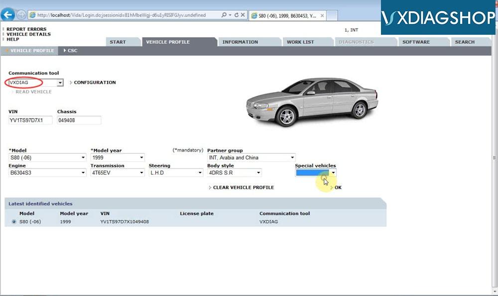 Install Vxdiag Volvo Vida 2015a 24