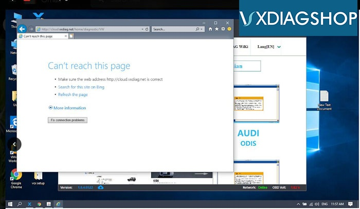 Vxdiag Cloud Diagnosis 2