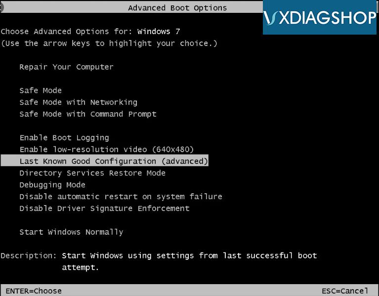Vxdiag Hdd 0000003b Error 1