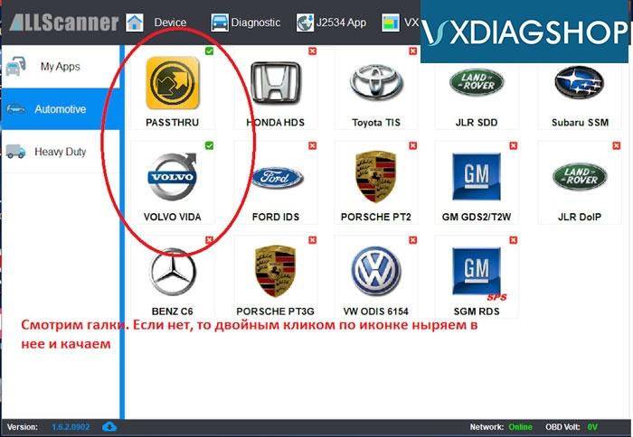 Vxdiag Vcx Nano Volvo S40 Review 4