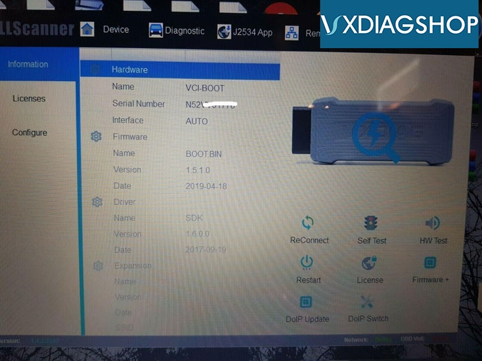 Vxdiag Volvo Firmware Update Failed 1